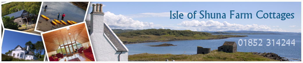 island of shuna holiday lets, Scotland