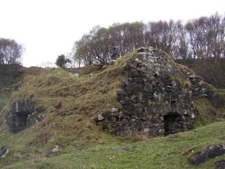 lime kilns, Shuna's main historic economy